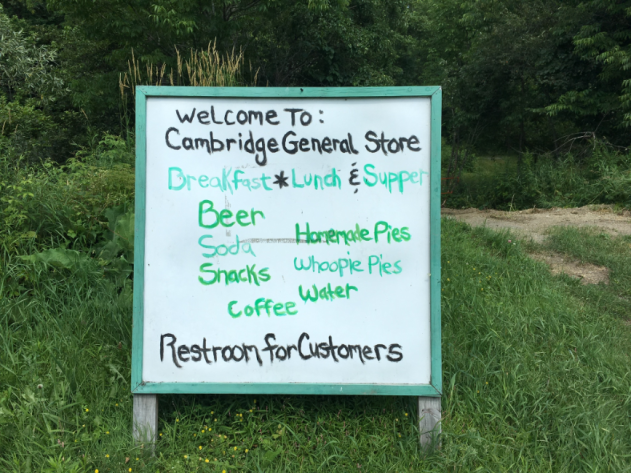 General Store sign outside