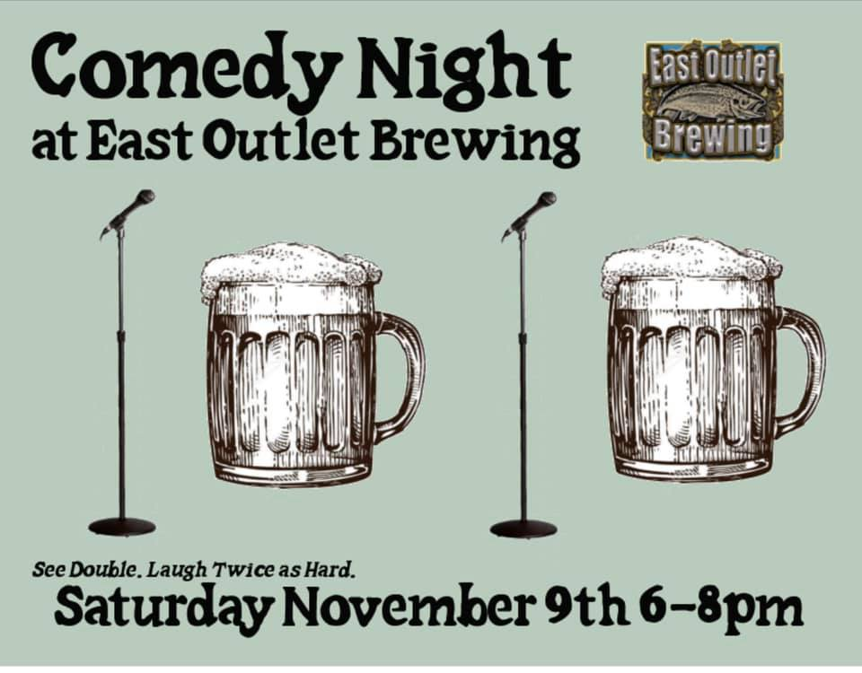 East Outlet comedy night